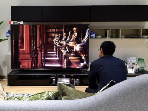 大型テレビ ブラビア