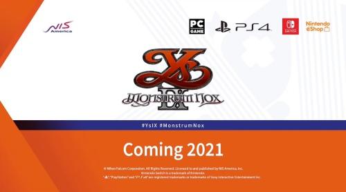 【残飯】PS4の伝説的神ゲー『イース9』が無事脱P!スイッチで発売決定wwwwwwww