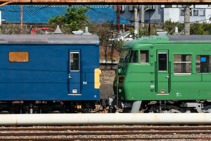 クモヤ145-1553(吹田総合車両所 京都支所)s