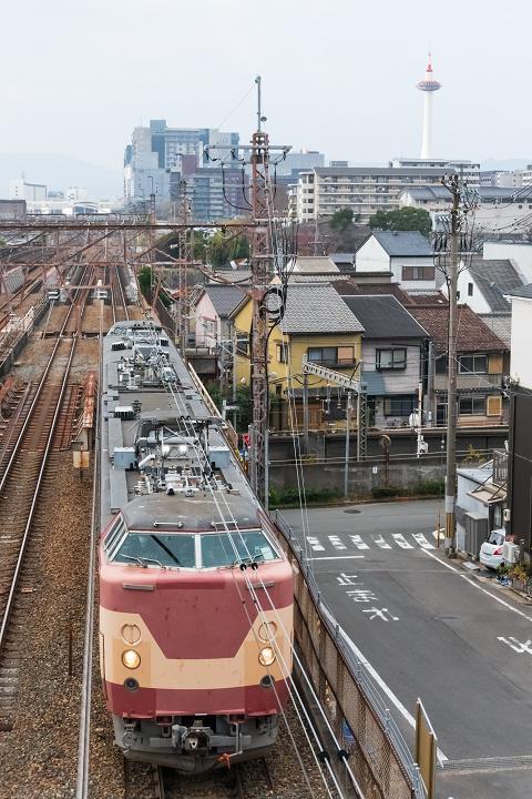 クモヤ443-69(京都~山科)s