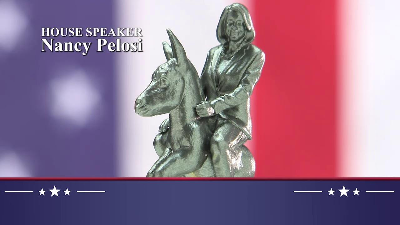 カオス過ぎる、2020年のアメリカの大統領選挙の記念チェスセット!!