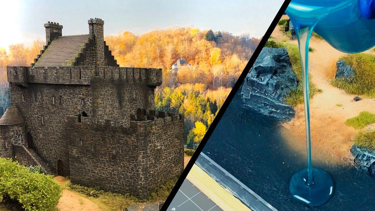 まるで本物のようなお城のジオラマが凄い!!