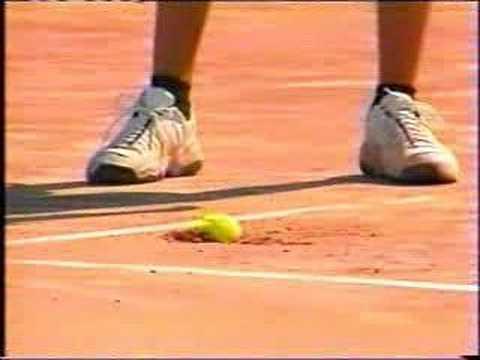 テニスのサーブが強烈過ぎて凄まじすぎる!!