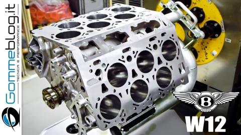 「ベントレイ W12」のエンジン_01