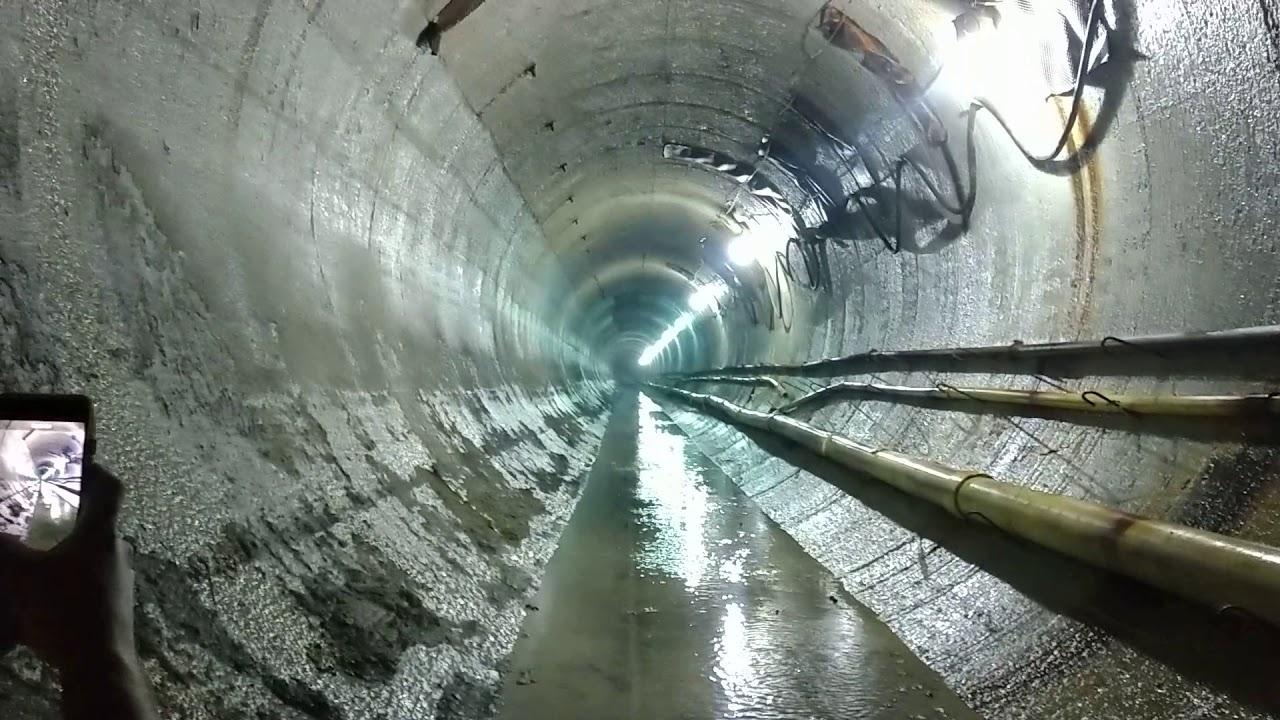 トンネル内の爆破の衝撃が凄まじ過ぎる!!
