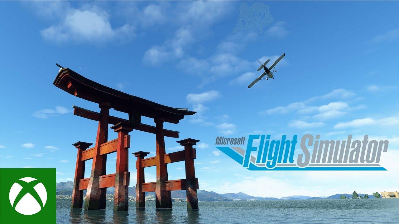 最高峰のフライト・シュミレーターで再現された日本の名所が美しすぎる!!