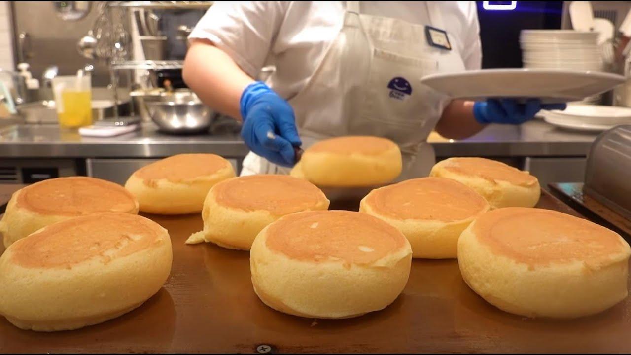 超ふわふわの奇跡のパンケーキが美味しそう!!