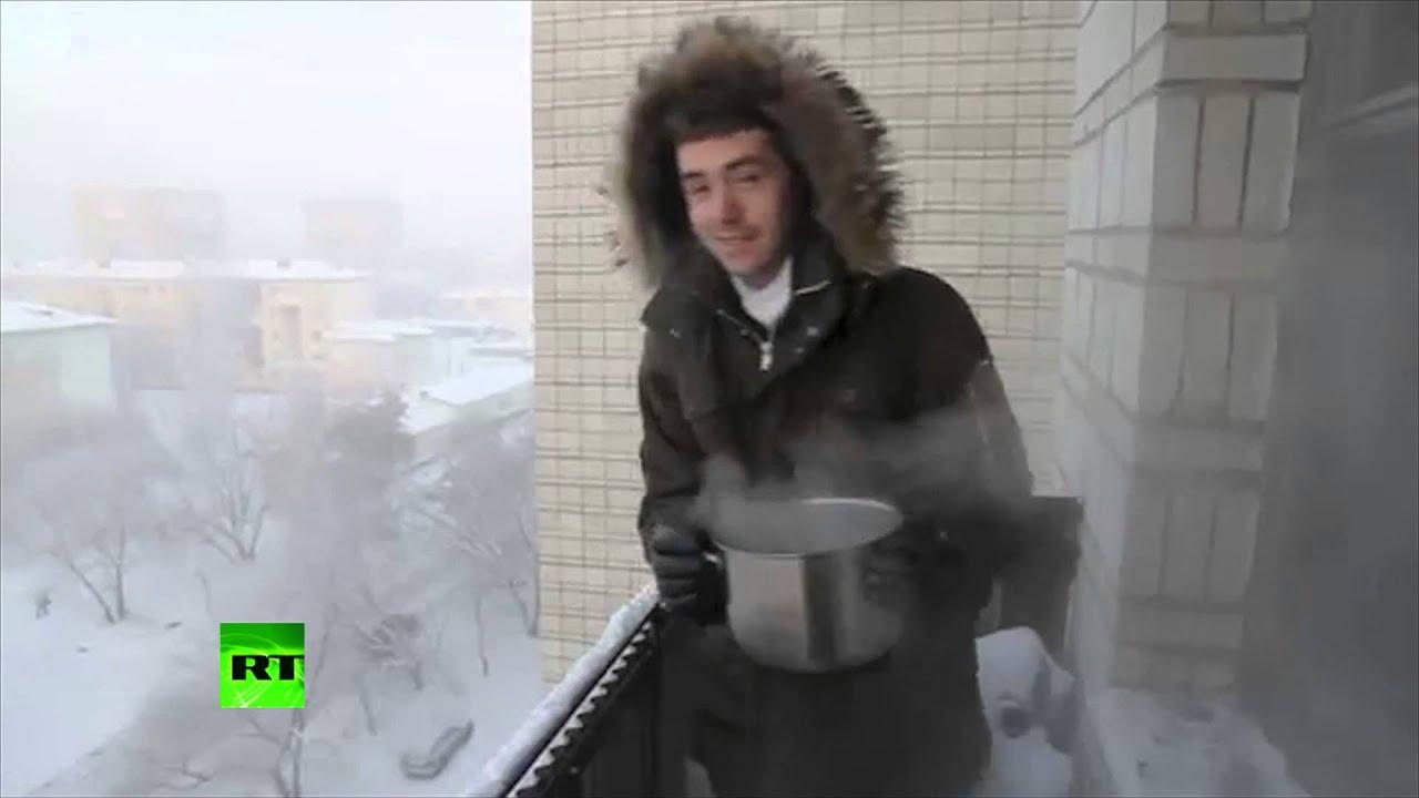 ロシアの冬の厳しさが凄まじ過ぎる!!
