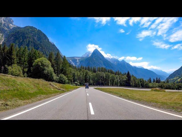 スイス~イタリアへの道が絶景すぎて凄い!!