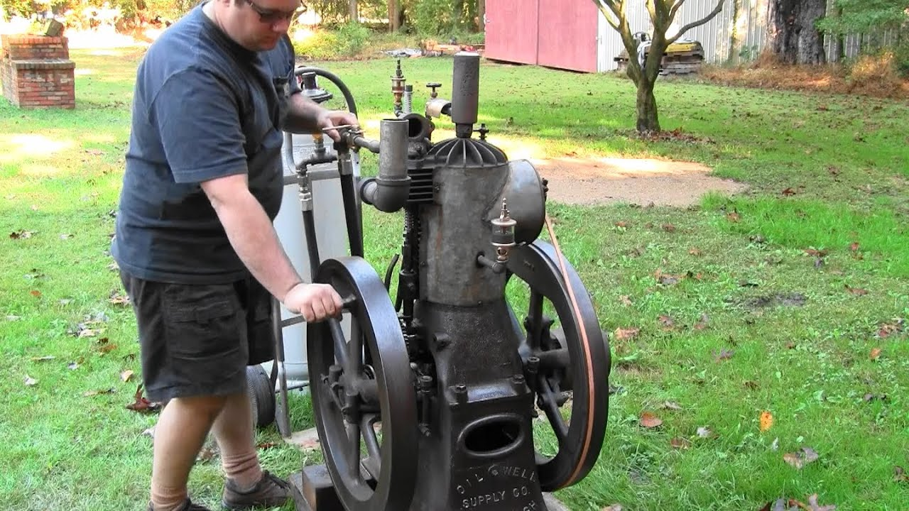100年前に作られた凄まじく古いエンジンが稼動する!!