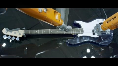 工業用マシンが楽器を演奏_01