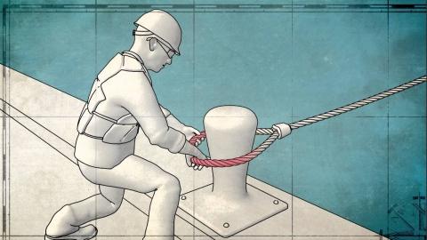 船を係留するロープ_01