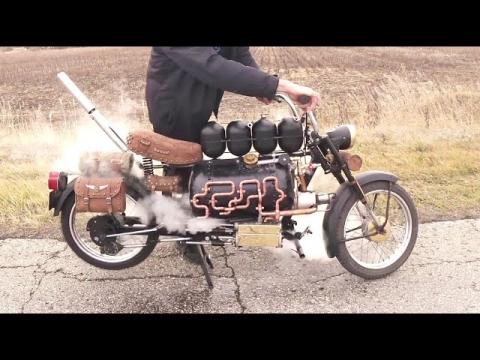蒸気機関で走るバイク_01