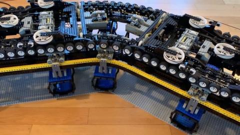 レゴで作ったロープウェイ_01