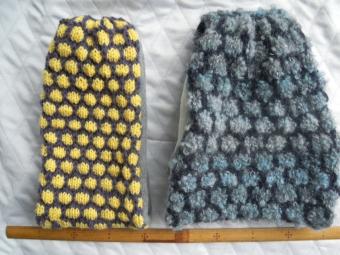 棒針編みターバン210112