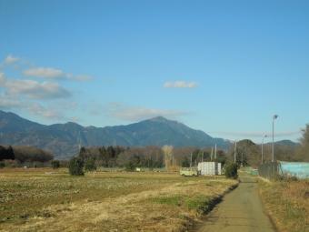 大山と右端の高取山210113
