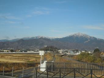 大山に雪210125