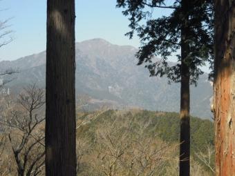 高取山から大山210222