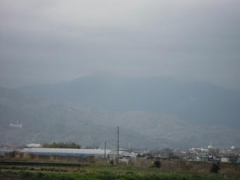 今日の大山方面210320
