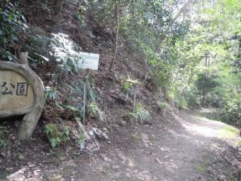 高麗公園此処に出て来たこの辺から住宅地210331