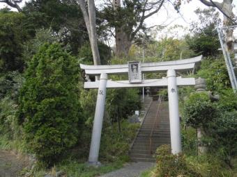 御嶽神社の裏に出た210331