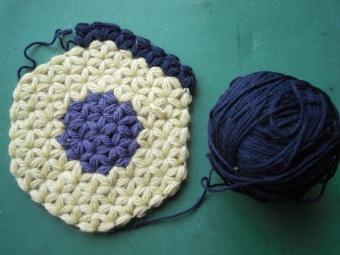 リフ編みで210406