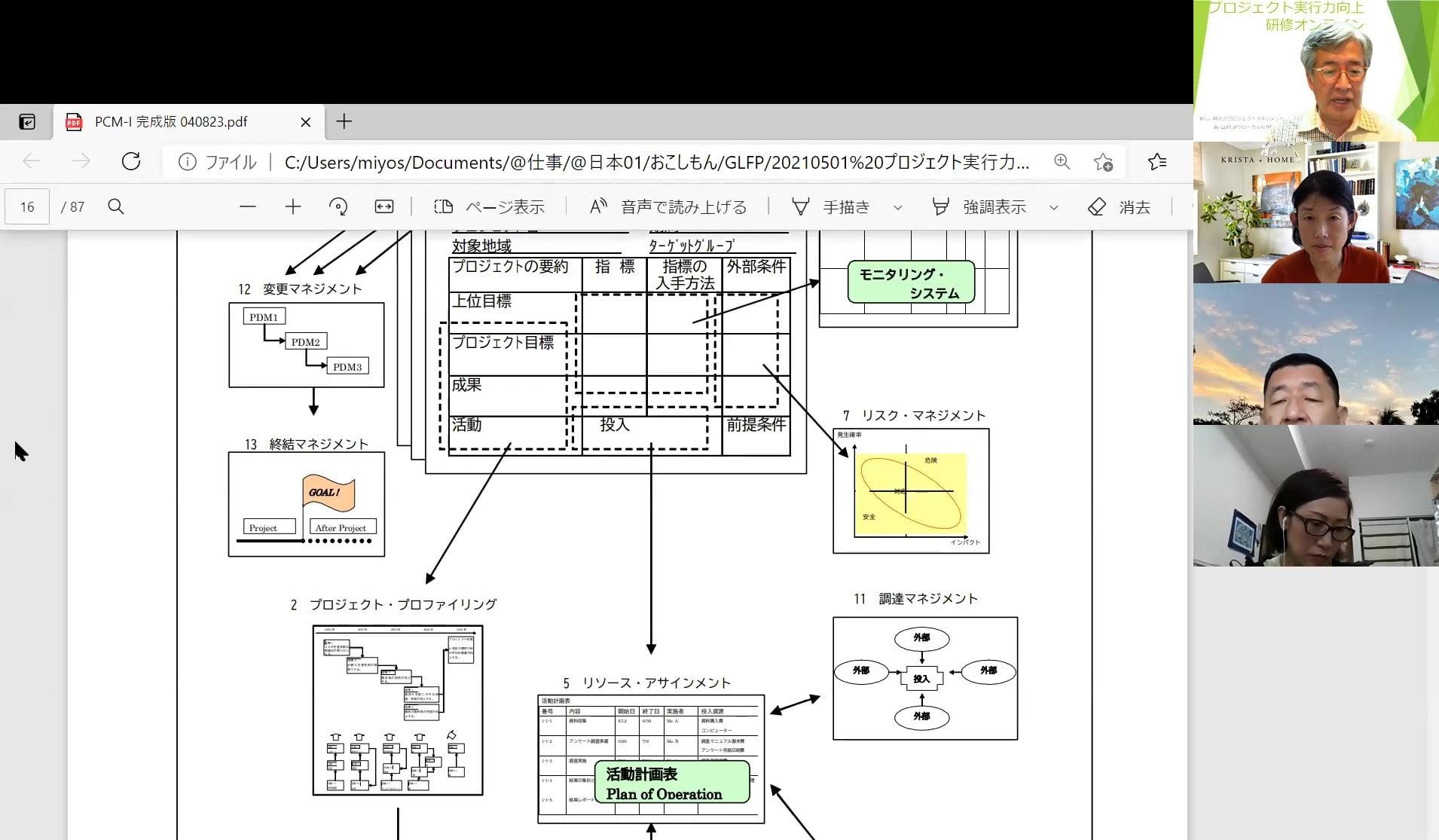 プロジェクト実行向上研修オンライン報告07
