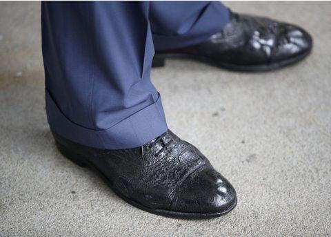 チャールズ皇太子靴
