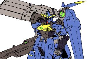 ガンダムジェミナス陸戦重装型2号機(ガンダムEXA登場版)t