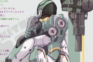 MS少女 MSM-10 ゾック【デザイン編】t2