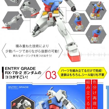 ENTRY GRADE 1:144 RX-78-2 ガンダム4