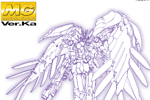 MG 1:100 ウイングガンダムゼロ EW Ver.Kat