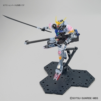 MG 1:100 ガンダムベース限定 ガンダムバルバトス[クリアカラー]4