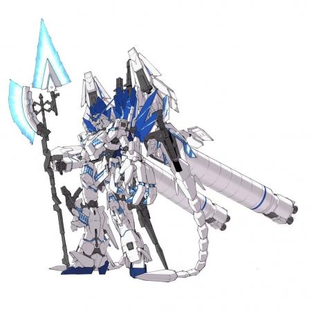 ROBOT魂 ユニコーンガンダム ペルフェクティビリティ・ディバイン3