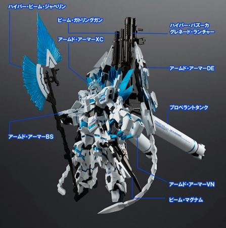 ROBOT魂 ユニコーンガンダム ペルフェクティビリティ・ディバイン1