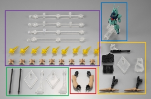 FW GUNDAM CONVERGE α・アジール オプションパーツセット3