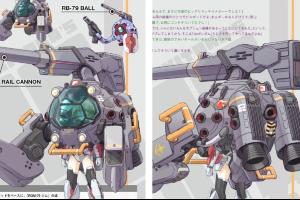 MS少女 RGM-79 ジム(モビルポッド装備)t
