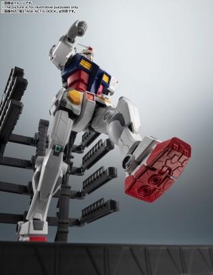 ROBOT魂 <SIDE MS> RX-78F00 ガンダム1