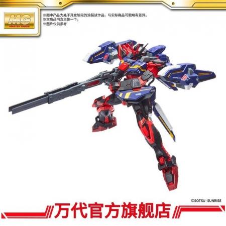MG 1:100 空战突击高达RM版(中国红)_全装备套装2