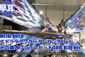 METAL BUILD ストライクフリーダムガンダム 光の翼オプションセット SOUL BLUE Ver.t3