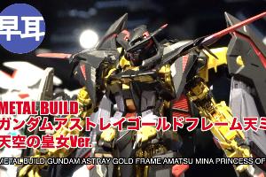 METAL BUILD ガンダムアストレイゴールドフレーム天ミナ(天空の皇女 Ver.)t2 (1)