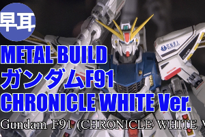 METAL BUILDガンダムF91 CHRONICLE WHITE Ver.t2