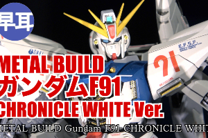 METAL BUILDガンダムF91 CHRONICLE WHITE Ver.2t