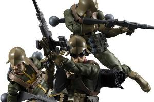 G.M.G.(ガンダムミリタリージェネレーション)ジオン公国軍一般兵士01、02、03rt