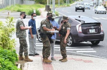 成程、基地外ですねえ ~ 琉球新報「米軍に撮影するなと言われました。基地外なのにおかしい」