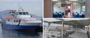 大津島巡航 鼓海Ⅱ