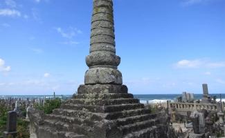 赤碕塔 日本海を背に立つ