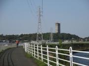2020/4/29境川CRから元ホテルエンパイアを望む