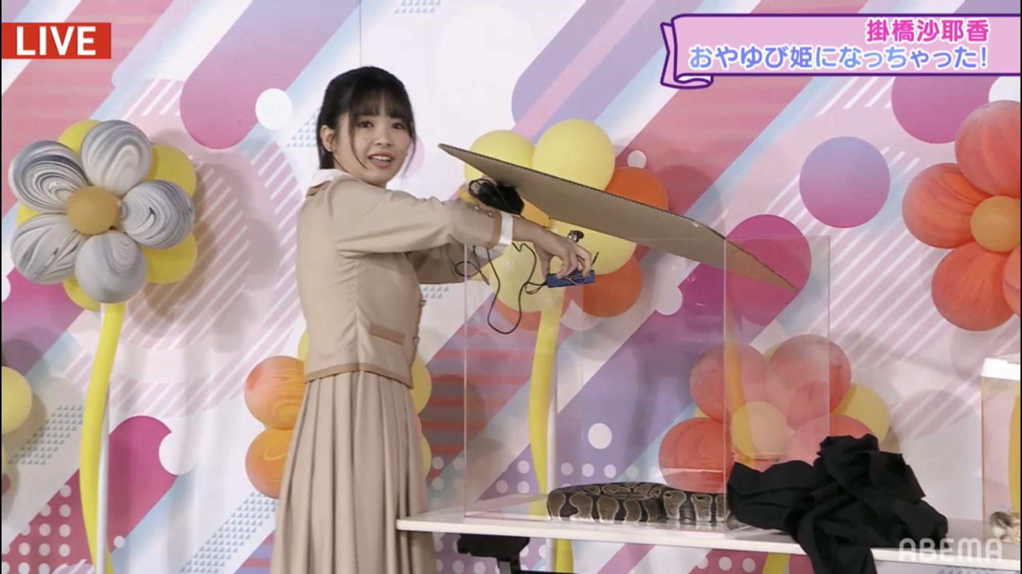 乃木坂電視台 掛橋沙耶香のおやゆび姫になっちゃった 筒井あやめ
