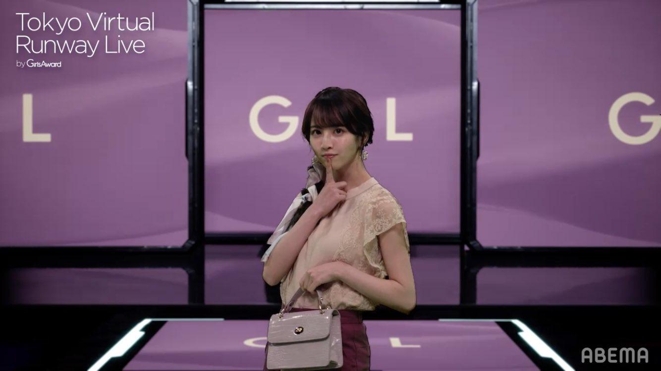Tokyo Virtual Runway Live by GirlsAward 佐藤楓